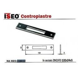 PIASTRA X SERRATURE ISEO 783380 ART 038022
