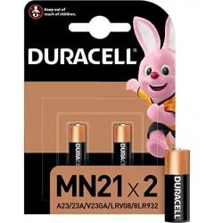 BATTERIE DURACELL ALCALINE MN21 Pz 2 MN21 - volt 12