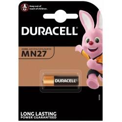 BATTERIE DURACELL ALCALINE MN27 Pz 1 MN27 - volt 12