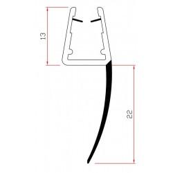 PROFILI PVC X CRISTALLI ART.405 MT 2.2