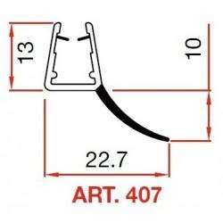 PROFILI PVC X CRISTALLI ART.407 MT 2.2