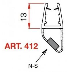 PROFILI MAGNETICI X CRISTALLI MT 2.2 art 412