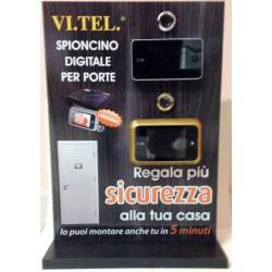 ESPOSITORE CON SPIONCINI LCD VI.TEL