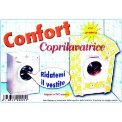 COPRILAVATRICE FELPATO CON CERNIERA