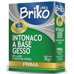 INTONACO BIANCO GESSO K2 BRIKO KG.1