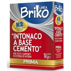INTONACO BASE CEMENTO K2 BRIKO KG.1