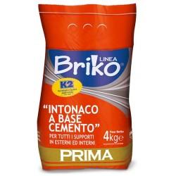 INTONACO BASE CEMENTO K2 BRIKO KG.4