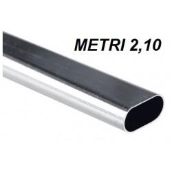 TUBO X ARMADIO 15X30 MT 2.10 mt.2.1 cromato